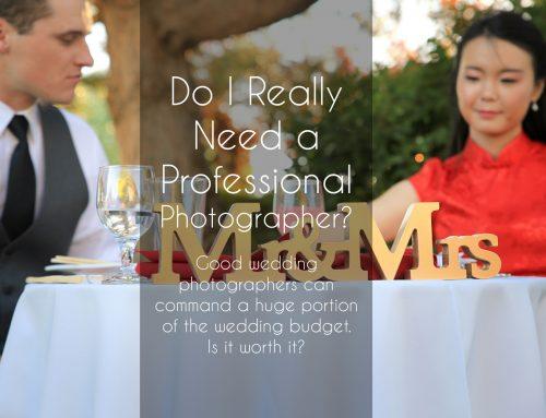Do I Really Need a Professional Photographer? Wedding Photography Boise Idaho