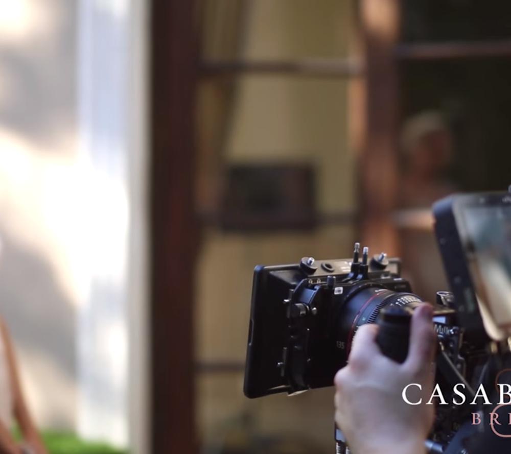 Casablanca Bridal Behind the Scenes