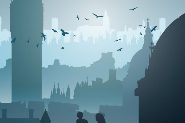 """London Skyline"" Illustration"