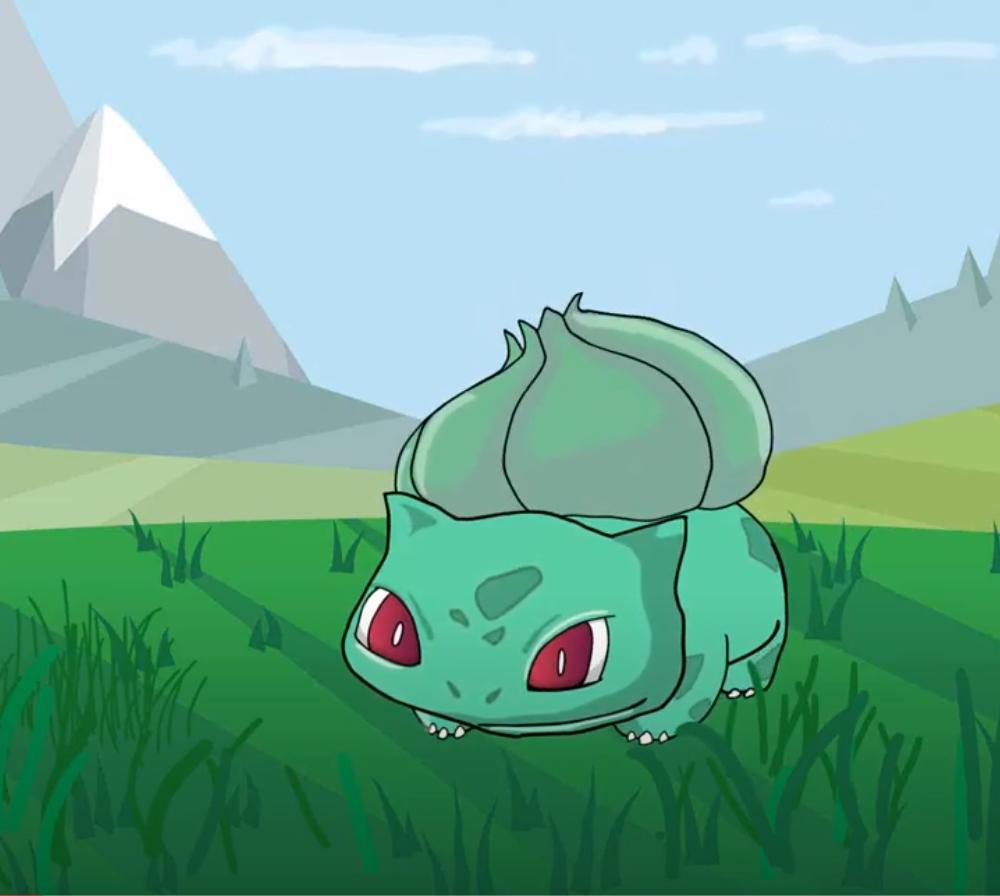 Pokemon Pounce Animation