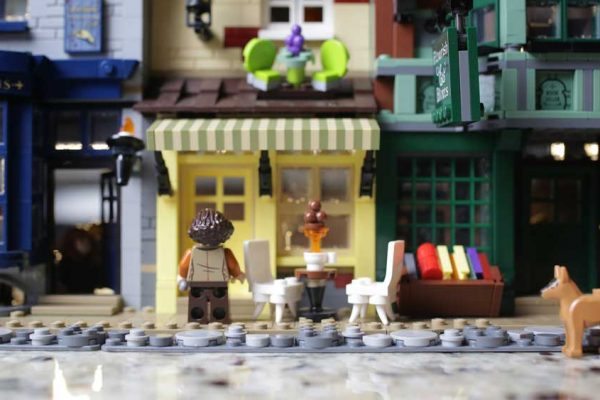 Diagon Alley Stop Motion Animation
