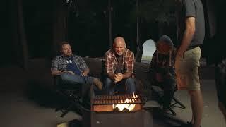 Around the Campfire Los Angeles Cinematography Setup